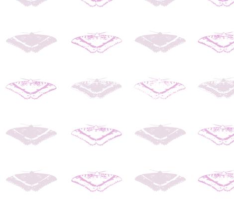 Moths Mauve fabric by purplish on Spoonflower - custom fabric