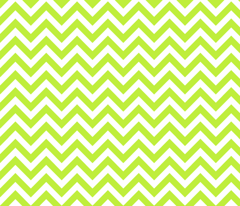 chevron_chartreuse fabric by xoelle on Spoonflower - custom fabric