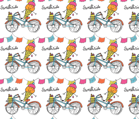 Sweet ride fabric by irenemck on Spoonflower - custom fabric