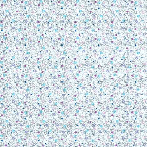Wee Ditzy Dots - Speckled fabric by tallulahdahling on Spoonflower - custom fabric