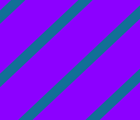 Diagonal Stripe Purple & Blue fabric by purplish on Spoonflower - custom fabric