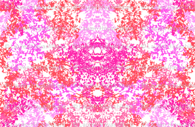 Wallpaper Floral Pink & Coral