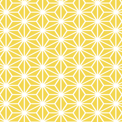 Simple Blocks, Golden fabric by animotaxis on Spoonflower - custom fabric