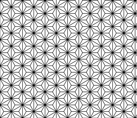 01232495 : SC3C isosceles : outline fabric by sef on Spoonflower - custom fabric