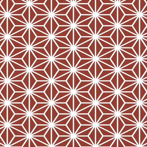 Simple Blocks, Maroon fabric by animotaxis on Spoonflower - custom fabric
