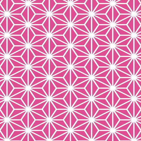 Simple Blocks, Fuchsia fabric by animotaxis on Spoonflower - custom fabric