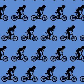 BikeBoyBlueBackground