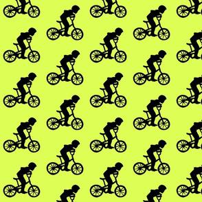 BikeBoyYellowyBackground
