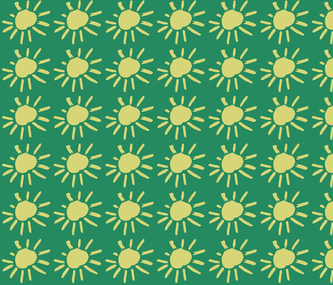Sunbursts fabric by alyson_chase on Spoonflower - custom fabric