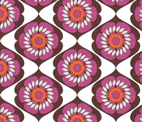 gloriosa_bohème fabric by holli_zollinger on Spoonflower - custom fabric
