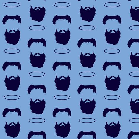 The Beard of Saint Augustine fabric by magneticcatholic on Spoonflower - custom fabric