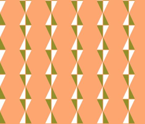 Fly a Kite Melon fabric by dorothyjeanne on Spoonflower - custom fabric