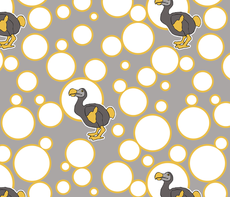 dodo2 fabric by mgterry on Spoonflower - custom fabric