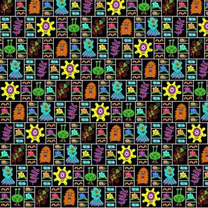 Monster Garden Panels