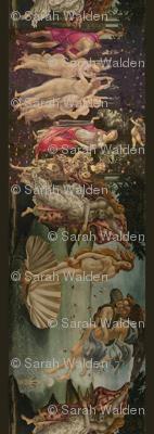Botticelli Birth of Venus and Primavera With Borders