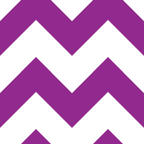 Berry Purple Chevron fabric by thepunkymonkey on Spoonflower - custom fabric