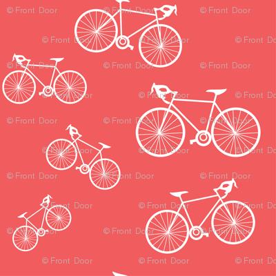 Silhouette Bikes: Coral