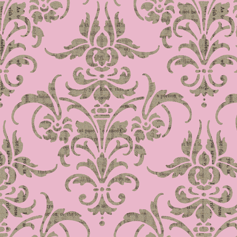 The Lovely Eloise fabric by peacoquettedesigns on Spoonflower - custom fabric