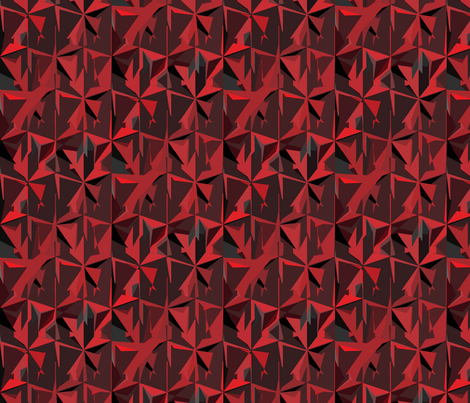 Shades of Red fabric by poshcrustycouture on Spoonflower - custom fabric