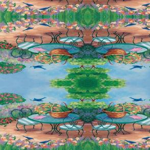 TULIP GARDEN REFLECTION