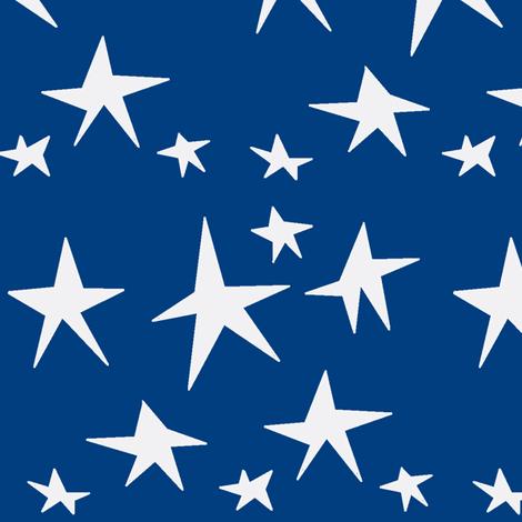 star midnight fabric by melissabonte on Spoonflower - custom fabric