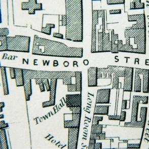 18th century city plan