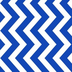 tillytom chevron - royal blue
