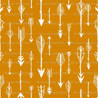 Arrows in Ochre Orange