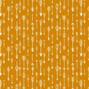 Arrows in Ochre Orange