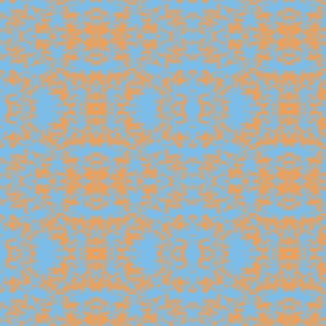 blue and orangehearts and retangles-ch
