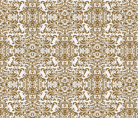 Vines Damask fabric by flyingfish on Spoonflower - custom fabric