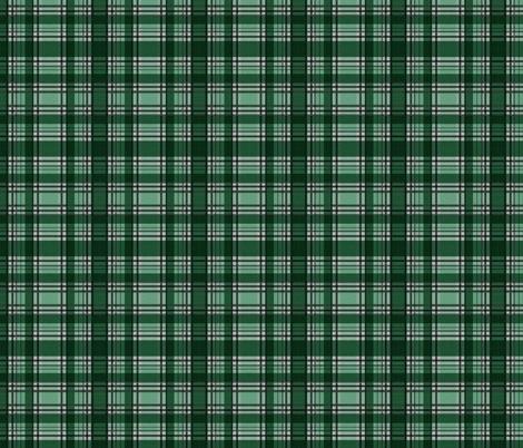 Green Lumberjack fabric by glanoramay on Spoonflower - custom fabric