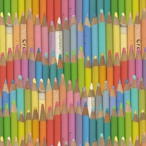 colored pencils - pastel