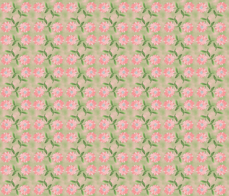 all_daisy fabric by anino on Spoonflower - custom fabric