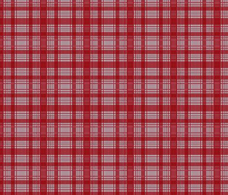 Red Lumberjack fabric by glanoramay on Spoonflower - custom fabric