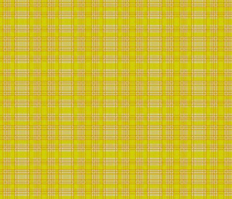 Yellow Lumberjack fabric by glanoramay on Spoonflower - custom fabric