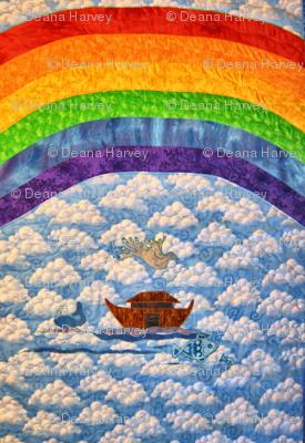 Rainbow Baby_Rainbow_Whole Cloth