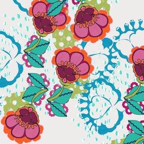 Lovely Blooms Pattern