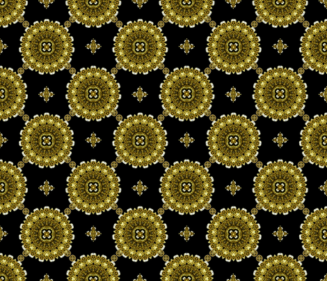 King's Wealth fabric by joanmclemore on Spoonflower - custom fabric