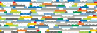 Interlocking Brick Wall - Rotated