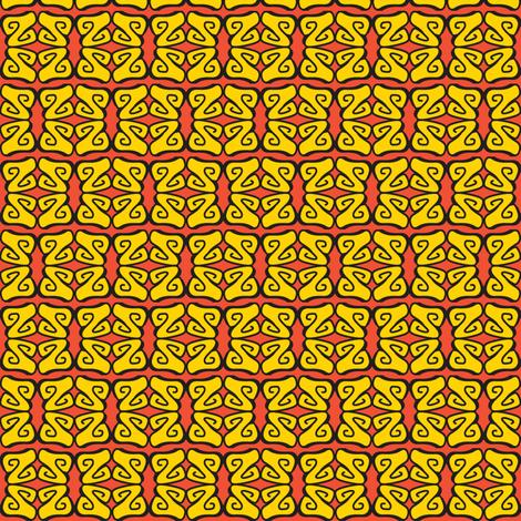 SZwirls fabric by ghennah on Spoonflower - custom fabric