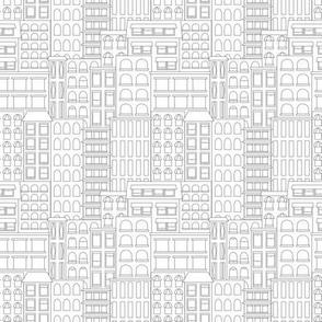 City aop Möba design