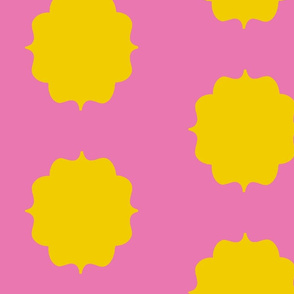 Yellow Pink Moroccan