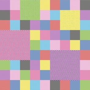 tillytom chevron - patchwork