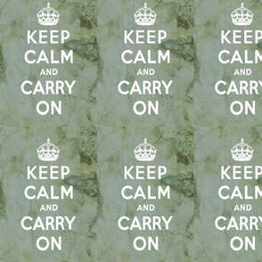 Keep Calm Green