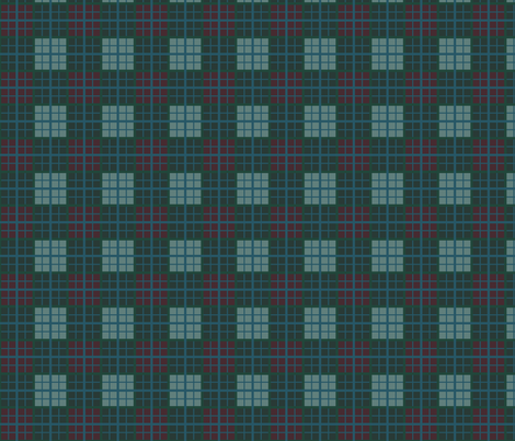 Tartan of an arrow slinging clan. Brave fabric by ani_bee on Spoonflower - custom fabric