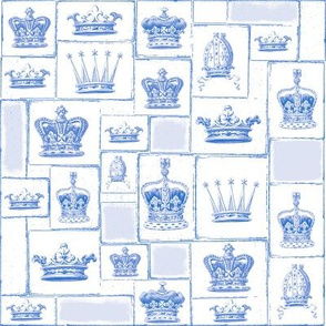 Crowns Blue in Blueberry Blue