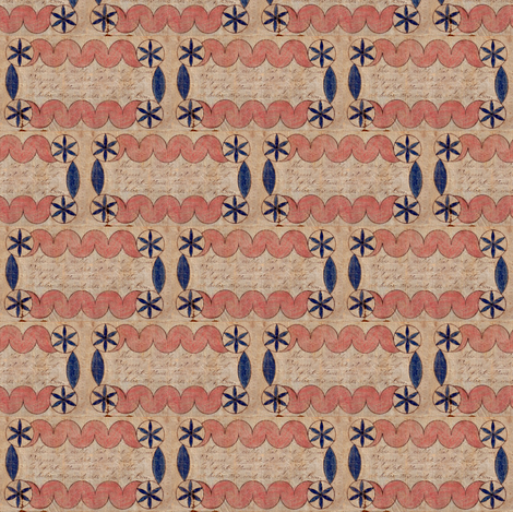 head of her class fabric by circulating on Spoonflower - custom fabric