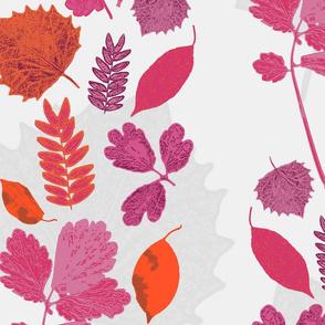 Lady Leaves Pattern