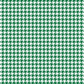 Forest/kelly Green Houndstooth